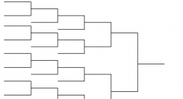 Printable brackets tournament brackets printable brackets for Game brackets templates