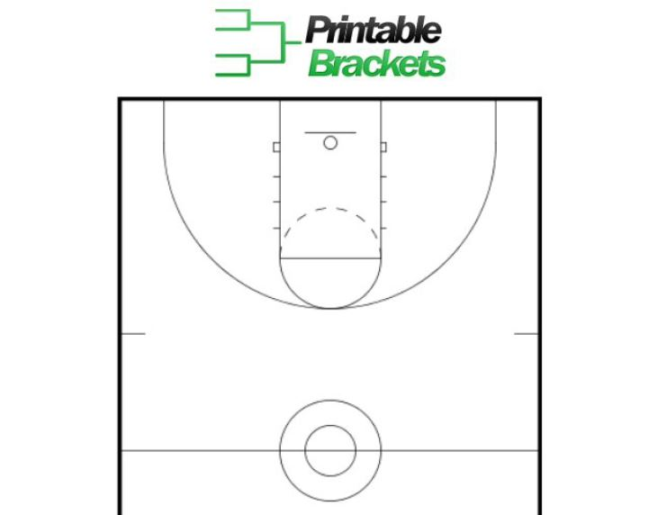 Basketball Court Template Playbestonlinegames