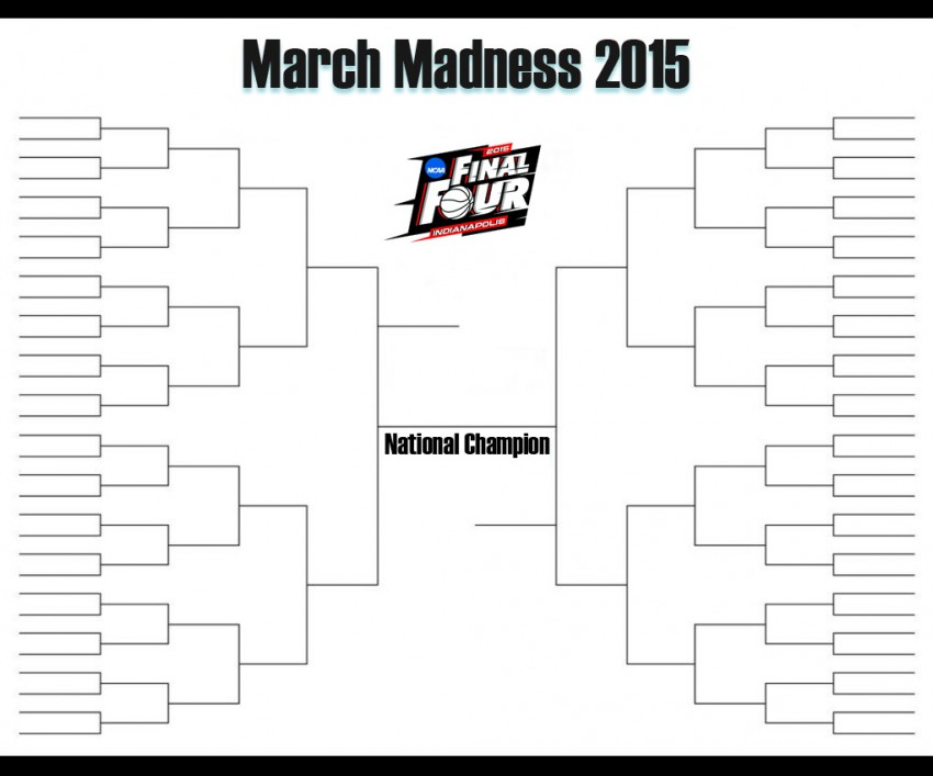 March Madness 2015 Bracket | 2015 March Madness Bracket » Printable ...